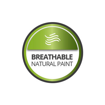 Breathable paint