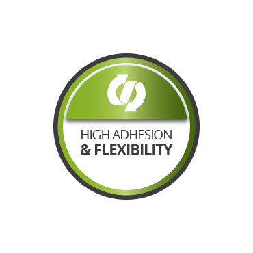 High adhesion and flexibility