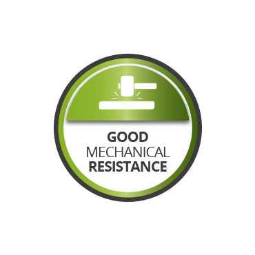 Good mechanical resistance